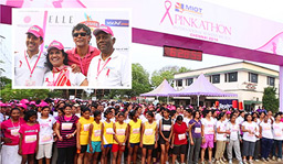 MIOT paints Chennai pink - More than 6000 women actively participated in the MIOT Pinkathon