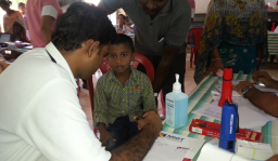 CHIME organized a paediatric camp at Kovalam on 11th September, 2014 for the local residents ahead of the Covelong surfing & music festival.