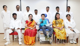Tamil Nadu's 1st Successful STIMO helps 10-year-old boy with paraplegia to walk again