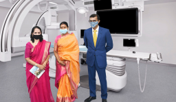 For the 1st time in India, MIOT Hospitals brings a Biplane CathLab with Cone Beam CT, 3D Echo and software intelligence – all on a single platform