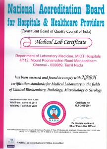 Medical Lab Certificate