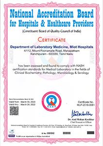 NABH-Department of laboratory Medicine