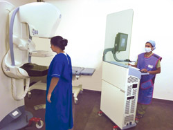Digital Mammo-tomography