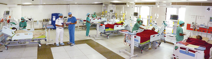 Multidisciplinary Medical ICU