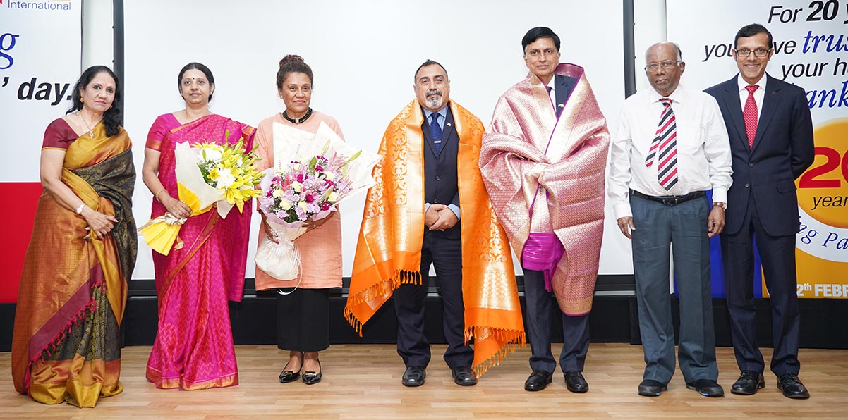 MIOT International - 20th Founders day - Press Photograph 1