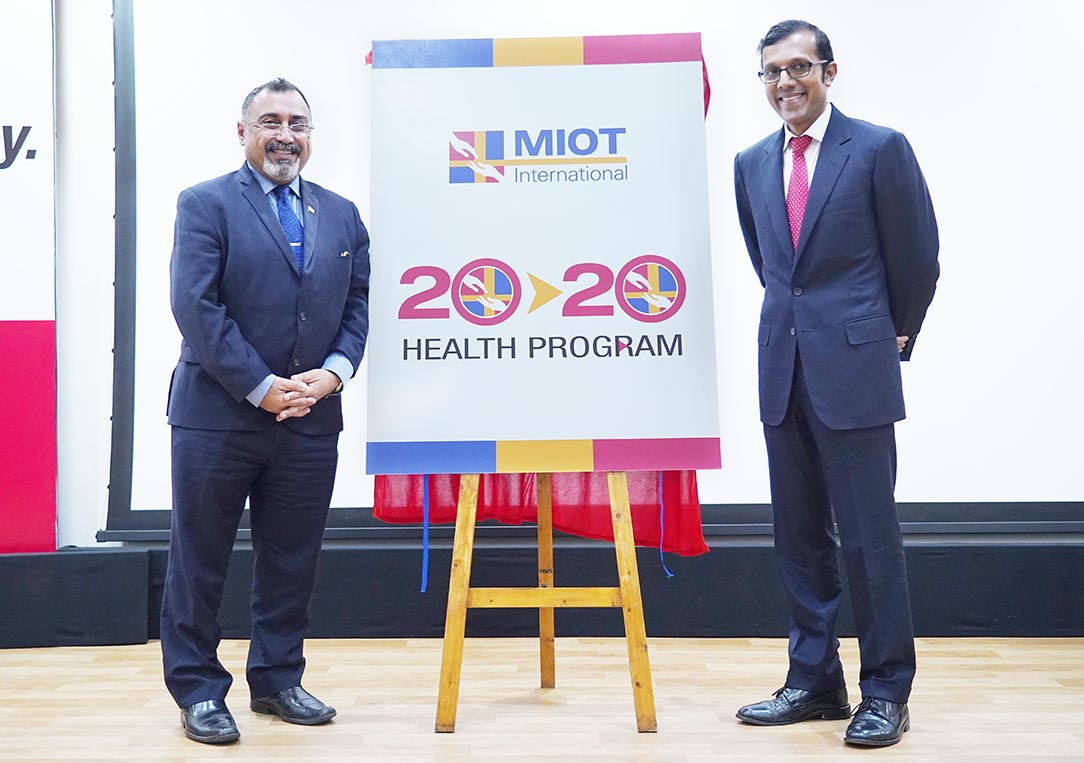 MIOT International - 20th Founders day - Press Photograph 2
