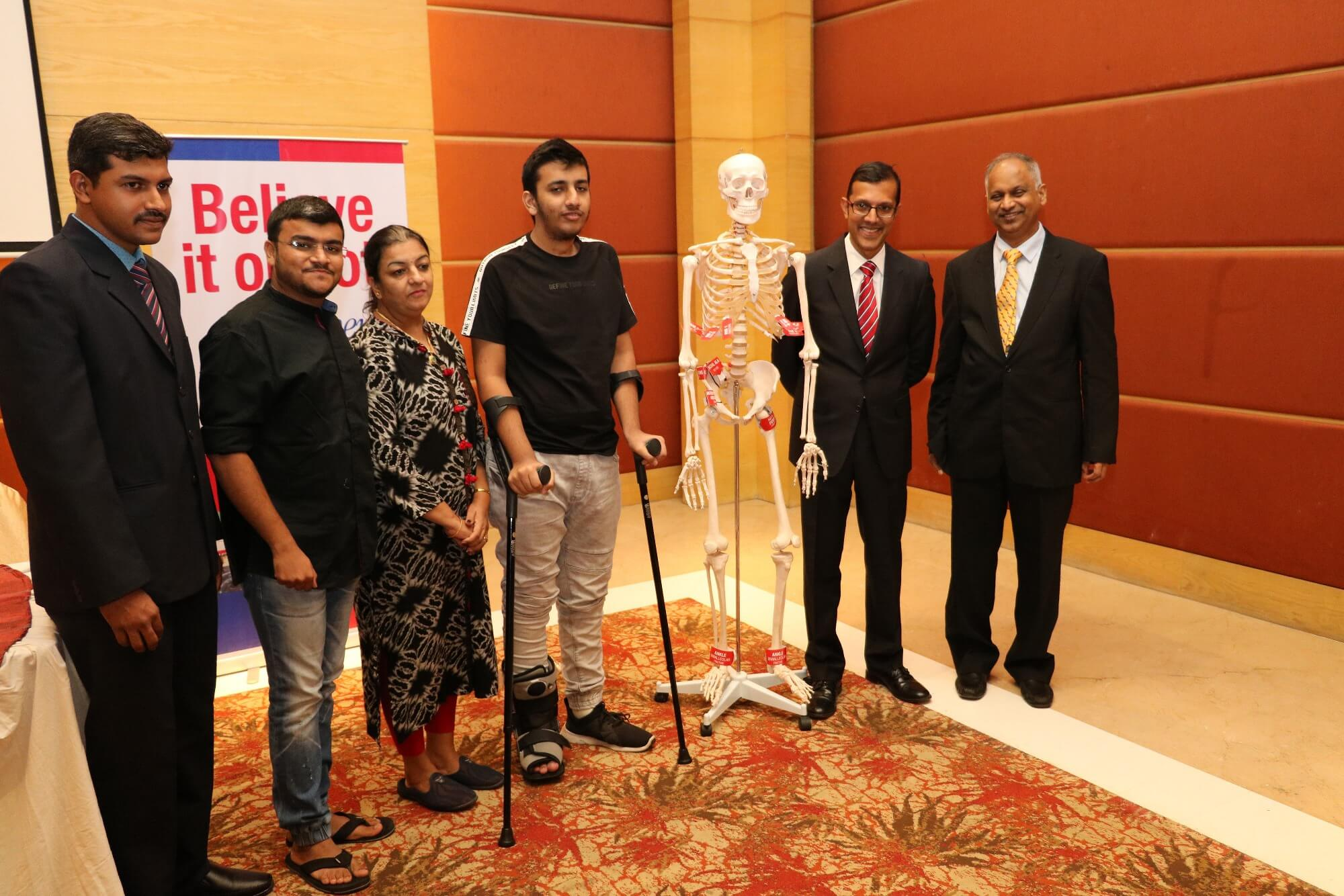 Mr. Deep Suresh and Doctors Photograph