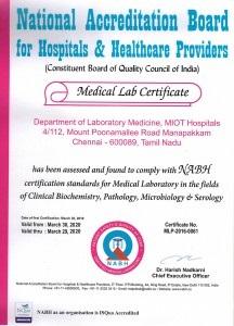 Medical Lab Certificate